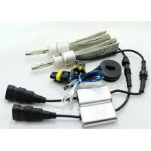 45W 4800lm 6000k Super Delgado Todo-en-Uno CREE LED Car H1 Kit de conversión de la linterna