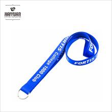 Kundenspezifische einziehbare Abzeichen-Rolle-Silkscreen-Abzuglinie mit Metall-O-Ring