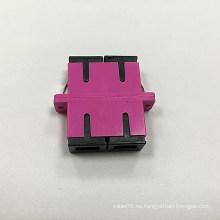 Sc Adaptador dúplex de fibra óptica