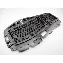 Acessórios para computador Moldagem por injeção de plástico para caixa superior do teclado