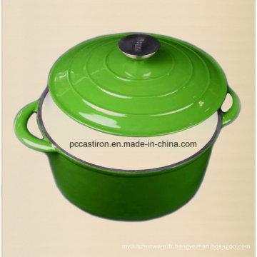Fabricant de pot de stockage de casserole en fonte de 2,5L en provenance de Chine