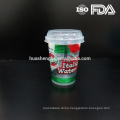 Custom Take Away 10oz Clear Printing Disposable Plastic Cup