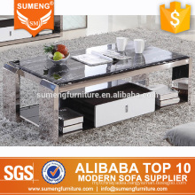 SUMENG marble top central coffee table from china