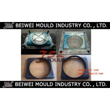 Molde de injeção de plástico para remoção de ventilador de radiador de carro