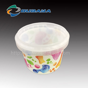 PP IML Yogurt Cup IML containerin moule étiquetage