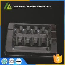Durchsichtige Ampullenschale aus Kunststoff