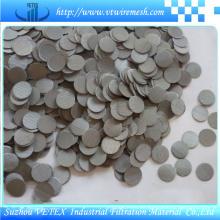 Disco de filtro de acero inoxidable con informe SGS