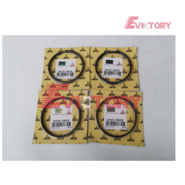 VOLVO engine parts D5E piston ring set