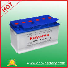 DIN 60038 Dry-Charged Auto Battery Car Battery