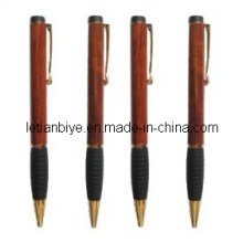 Gift Item Wooden Ball Pen with Rubber Grip (LT-C199)