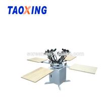 manual 4 color t-shirt screen printer