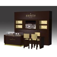 Mobília de vidro luxo Design loja relógio MDF
