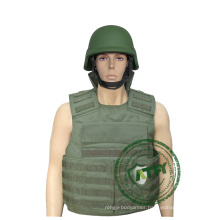 Army & Police bulletproof vest with pockets/punchs