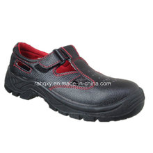 Chaussure de sécurité Style cuir vendu chaud sandale supérieure (CH-001)