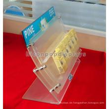 Creative Tobacco Retail Shop Custom stilvolle Acryl Countertop Cigartte Display-Einheiten zum Verkauf