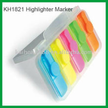 Bright Colorful Mini Highlighter Set with non-toxic Ink on Discount