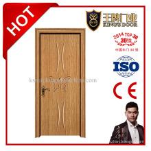 Интерьер деревянная дверь с рамой для спальни или гостиной