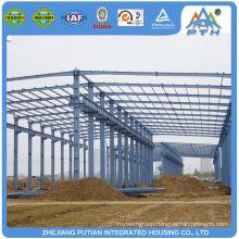 Superior H type column 1000 square meter warehouse building