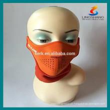 Capacete de segurança Máscaras protetoras de esportes máscara de neoprene de meia face