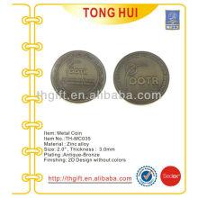 Metall Gedenkmünze, Souvenirmünze für Translationsforschung