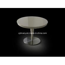 Poster Style moderne en bois rond de Table de thé (LS-846)