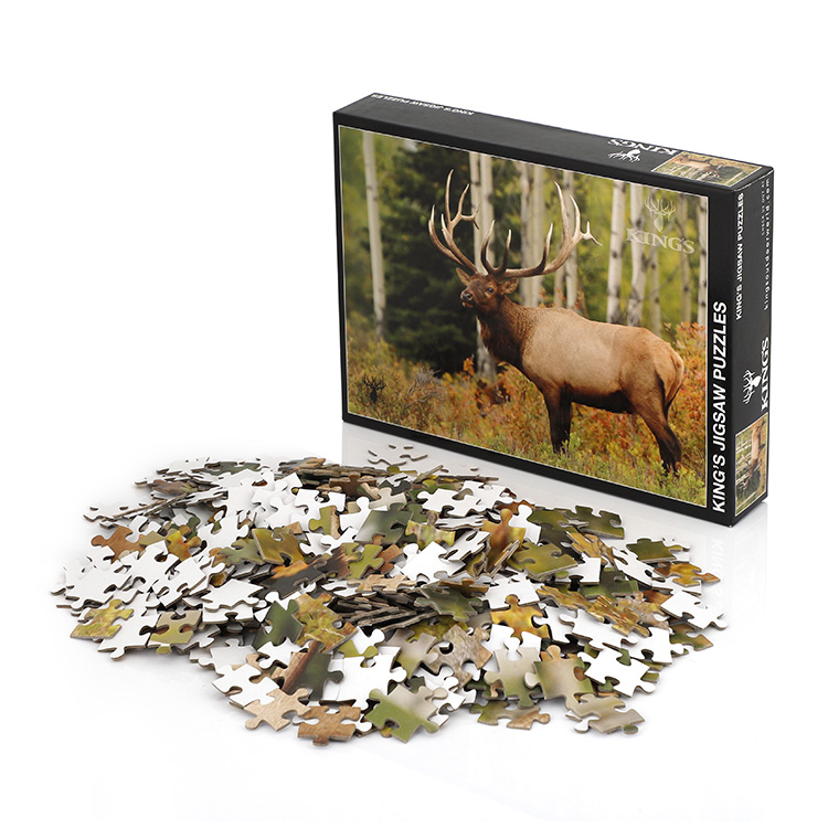 Custom jigsaw puzzles 1500 2000 pieces children's game educational products toys for kids
