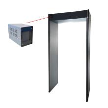 Detector de temperatura corporal com câmera térmica