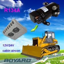 12/24 / 48v ac compresseur air conditions pour voitures camion climatisation de cabine voiture électrique électrique à courant continu