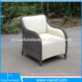 Специальная конструкция открытый PU кожаный мебель PE плетеная
