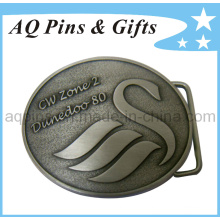 3D Personalized Antique Silver Belt Buckle with Made in China (belt buckle-001)