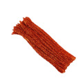 Factory sale 3mm*30cm colored craft Pipe cleaner Glitter Chenille Stems
