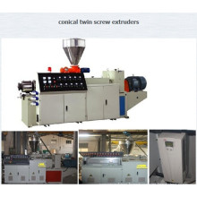 Plastic Twin Conical Screw Extruder