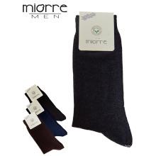 Miorre OEM Оптовая Lcyra дышащий хлопок мужские носки