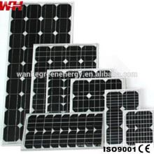 Kleine Photovoltaik-Sonnenkollektoren für den Heimgebrauch
