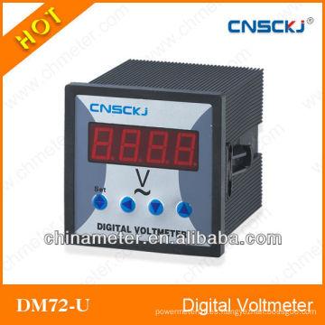 DM72-U Voltímetro digital monofásico
