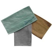 Toalla de mano / cara de bambú blanda y antibiosis (BT-03)