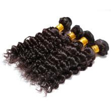 billig natürliche Farbe der China-Produkte 6a erstklassige indische Haar-Haarshop des Zolls 16 Zoll
