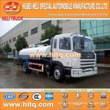 JAC 4x2 10000L dung suction truck 160hp Yuchai engine