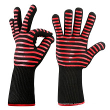 Backup01 932F Extreme Fire proof Pit Oven Mitt Baking Kitchen Cooking Heat Resistant Grill BBQ Gloves