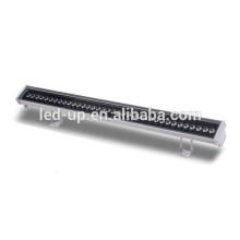 AC 100-240V Prise de tension d'entrée conduit mini rgb led bar light mur lampe de lavage 36W