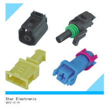 Male Female Auto Waterproof Connector with Terminals 1 Pin Connector