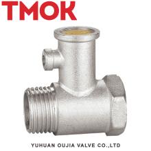 DN15 brass nickle plating safety valve