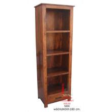 Sheesham Long Book Shelf