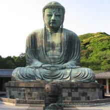 популярный дизайн напольного украшения бронзовая статуя Будды