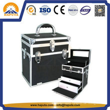 Cosmetic Case for Makeup with Aluminum Frame