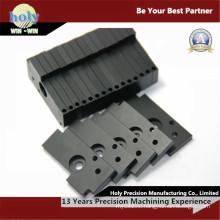 CNC Milled Parts by Black Anodized 6063 Aluminum