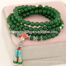 Bracelet à perles italiennes à perles chanceuses 2014