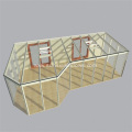 Aluminum Lowes Garden Glass Sunroom