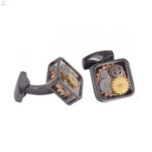 Модные часы передач запонки, часы, запонки антикварные ювелирные изделия