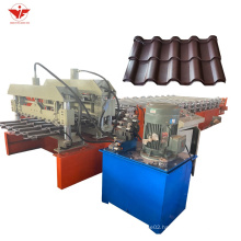 Galvanized Steel Profile Metal Roofing corrugated sheet roll forming machines c10